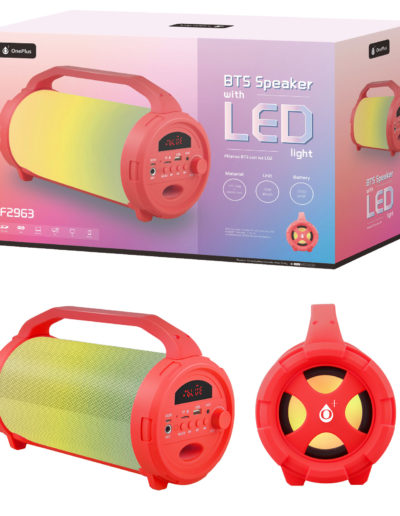 altavoz gran led amarillo