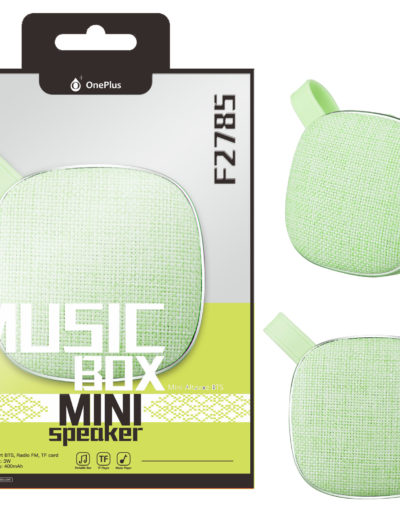 altavoz mini verde