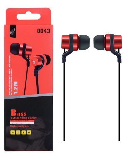 auricular basic rojo