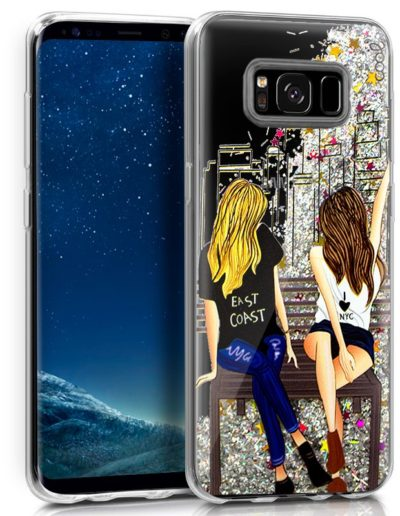 funda glitter girls