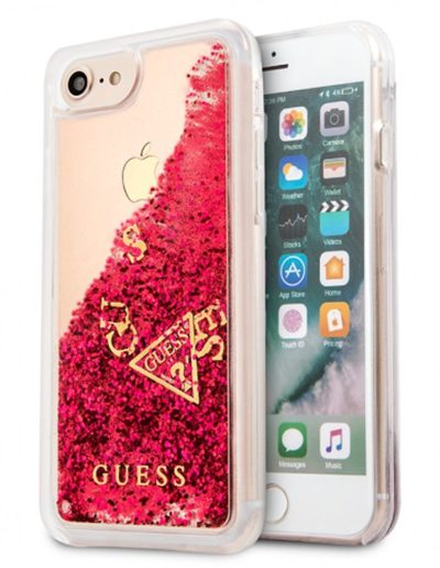 funda guess liquid rojo