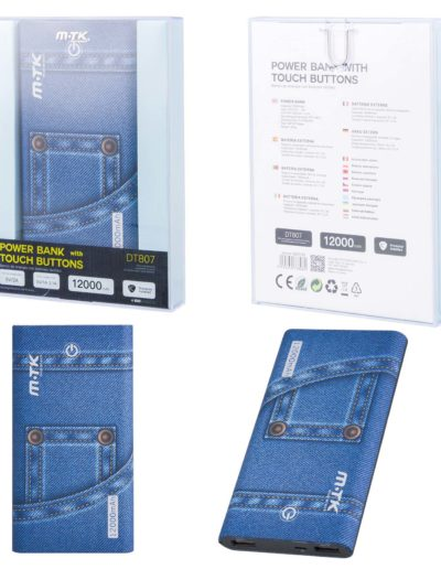 powerbank 12000 jeans