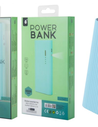 powerbank 13000 azul