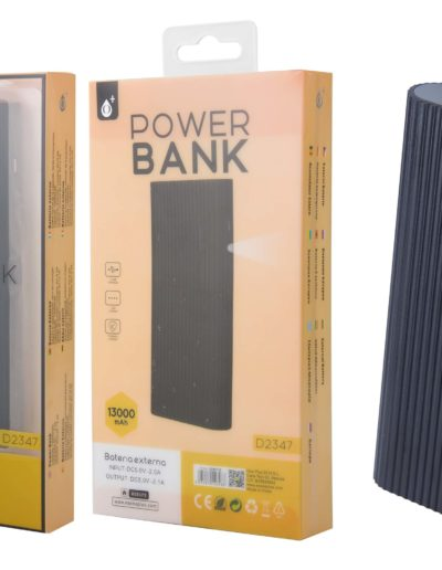 powerbank 13000 negro
