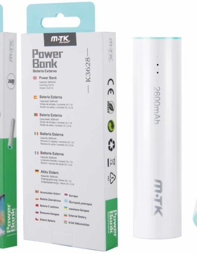 powerbank 2600 verde