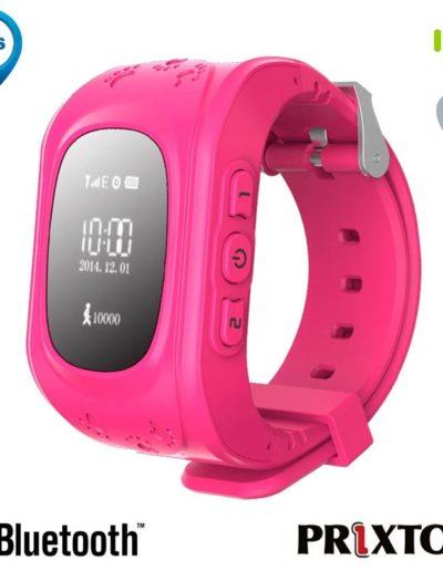 smartwatch localizador niños rosa