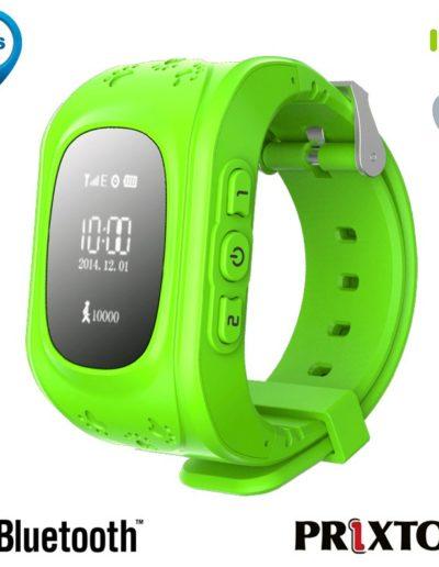 smartwatch localizador niños verde
